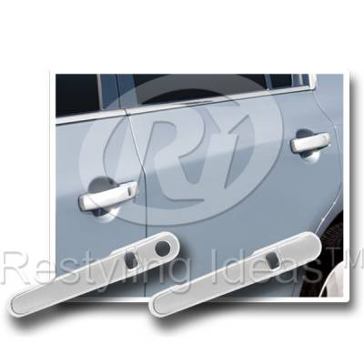 Suv Truck Accessories - Chrome Billet Door Handles - Restyling Ideas - Nissan Frontier Restyling Ideas Door Handle Cover - 68129B-2S