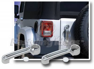 Wrangler - Body Kit Accessories - Restyling Ideas - Jeep Wrangler Restyling Ideas Door Handle Cover - 68148B