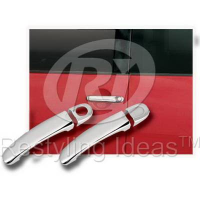 SUV Truck Accessories - Chrome Billet Door Handles - Restyling Ideas - Volkswagen Beetle Restyling Ideas Door Handle Cover - 68160B