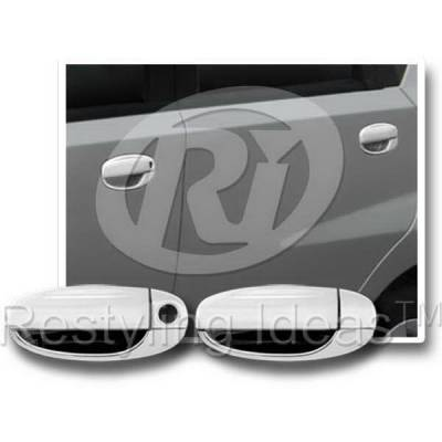 Suv Truck Accessories - Chrome Billet Door Handles - Restyling Ideas - Chevrolet Aveo Restyling Ideas Door Handle Cover - 68162B