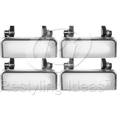Suv Truck Accessories - Chrome Billet Door Handles - Restyling Ideas - Ford Explorer Restyling Ideas Door Handle - 68-FOEPL95-4