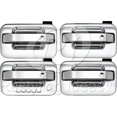 Suv Truck Accessories - Chrome Billet Door Handles - Restyling Ideas - Lincoln Mark Restyling Ideas Door Handle Keypad - 68-FOF1504-4P
