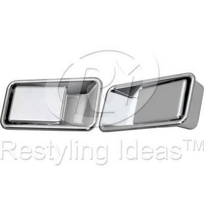 Suv Truck Accessories - Chrome Billet Door Handles - Restyling Ideas - Jeep Wrangler Restyling Ideas Door Handle - 68-JEWRA86H-2