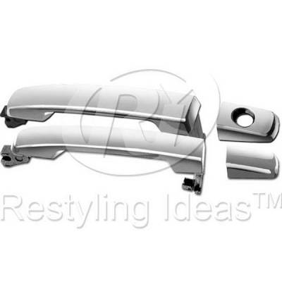 Suv Truck Accessories - Chrome Billet Door Handles - Restyling Ideas - Nissan Armada Restyling Ideas Front Door Handle - 68-NITIT04-2