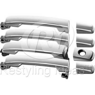 Suv Truck Accessories - Chrome Billet Door Handles - Restyling Ideas - Nissan Titan Restyling Ideas Door Handle - 68-NITIT04-4