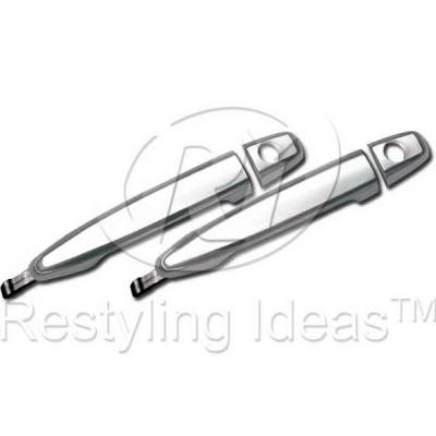 Suv Truck Accessories - Chrome Billet Door Handles - Restyling Ideas - Toyota Tacoma Restyling Ideas Door Handle - 68-TOTAC05-2K