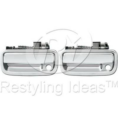Suv Truck Accessories - Chrome Billet Door Handles - Restyling Ideas - Toyota Tacoma Restyling Ideas Door Handle - 68-TOTAC95-2K
