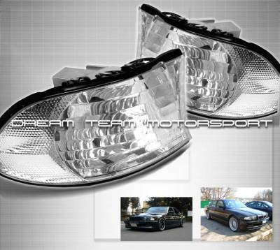 Headlights & Tail Lights - Corner Lights - Euro - Clear Corners 99-01 E38