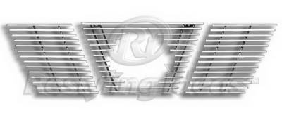 Grilles - Custom Fit Grilles - Restyling Ideas - Nissan Xterra Restyling Ideas Grille Insert - 72-ABG-N66430A