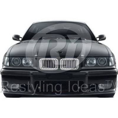 Grilles - Custom Fit Grilles - Restyling Ideas - BMW 3 Series Restyling Ideas Performance Grille - 72-GB-3SE3691-CCS