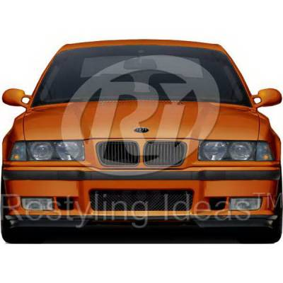 Grilles - Custom Fit Grilles - Restyling Ideas - BMW 3 Series Restyling Ideas Performance Grille - 72-GB-3SE3697-BB