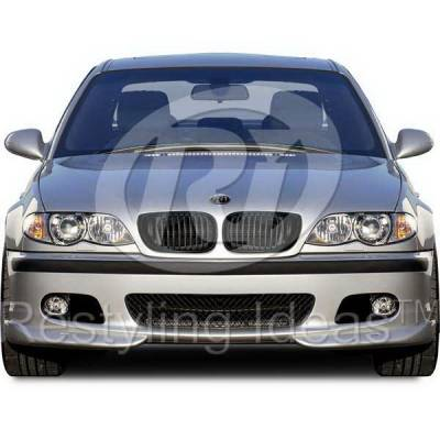 Grilles - Custom Fit Grilles - Restyling Ideas - BMW 3 Series 4DR Restyling Ideas Performance Grille - 72-GB-3SE46024-BB