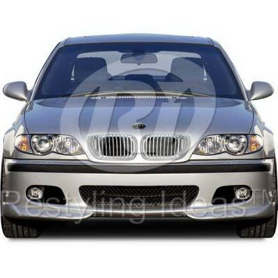 Grilles - Custom Fit Grilles - Restyling Ideas - BMW 3 Series 4DR Restyling Ideas Performance Grille - 72-GB-3SE46024-CCS