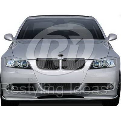 Grilles - Custom Fit Grilles - Restyling Ideas - BMW 3 Series Restyling Ideas Performance Grille - 72-GB-3SE9005H-BK