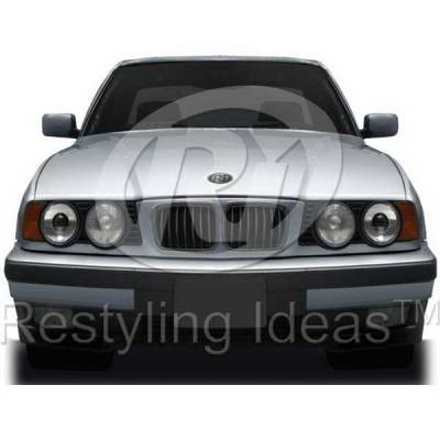 Grilles - Custom Fit Grilles - Restyling Ideas - BMW 5 Series Restyling Ideas Performance Grille - 72-GB-5SE3494-BB