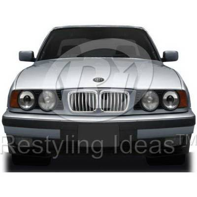 Grilles - Custom Fit Grilles - Restyling Ideas - BMW 5 Series Restyling Ideas Performance Grille - 72-GB-5SE3494-CCS