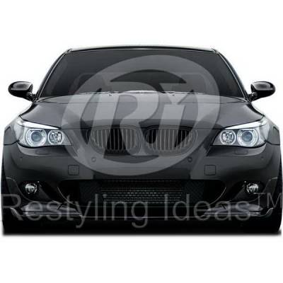 Grilles - Custom Fit Grilles - Restyling Ideas - BMW 5 Series Restyling Ideas Performance Grille - 72-GB-5SE6003-BB