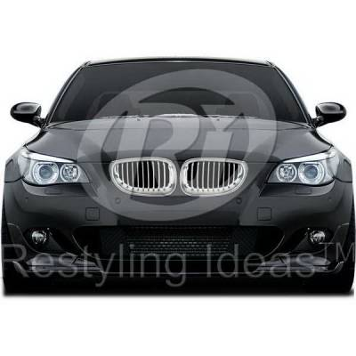 Grilles - Custom Fit Grilles - Restyling Ideas - BMW 5 Series Restyling Ideas Performance Grille - 72-GB-5SE6003-CCS