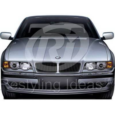 Grilles - Custom Fit Grilles - Restyling Ideas - BMW 7 Series Restyling Ideas Performance Grille - 72-GB-7SE3899-BB