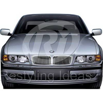 Grilles - Custom Fit Grilles - Restyling Ideas - BMW 7 Series Restyling Ideas Performance Grille - 72-GB-7SE3899-CCS
