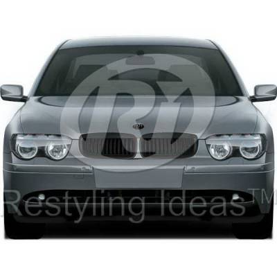 Grilles - Custom Fit Grilles - Restyling Ideas - BMW 7 Series Restyling Ideas Performance Grille - 72-GB-7SE6502-BB