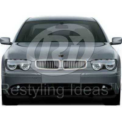 Grilles - Custom Fit Grilles - Restyling Ideas - BMW 7 Series Restyling Ideas Performance Grille - 72-GB-7SE6502-CCS