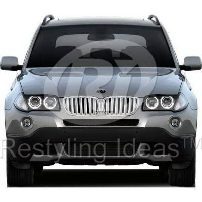 Grilles - Custom Fit Grilles - Restyling Ideas - BMW X3 Restyling Ideas Performance Grille - 72-GB-X3E8308-CCS