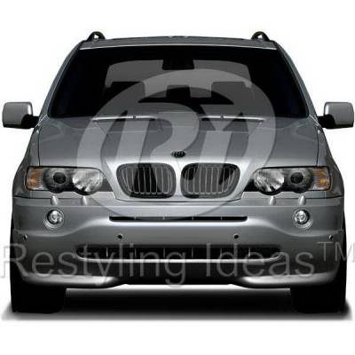 Grilles - Custom Fit Grilles - Restyling Ideas - BMW X5 Restyling Ideas Performance Grille - 72-GB-X5E5300-BB