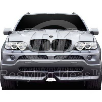 Grilles - Custom Fit Grilles - Restyling Ideas - BMW X5 Restyling Ideas Performance Grille - 72-GB-X5E5304-BB