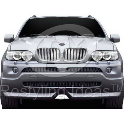 Grilles - Custom Fit Grilles - Restyling Ideas - BMW X5 Restyling Ideas Performance Grille - 72-GB-X5E5304-CCS