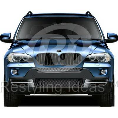 Grilles - Custom Fit Grilles - Restyling Ideas - BMW X5 Restyling Ideas Performance Grille - 72-GB-X5E7007-BB