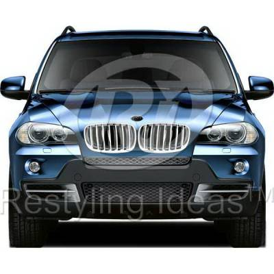Grilles - Custom Fit Grilles - Restyling Ideas - BMW X6 Restyling Ideas Performance Grille - 72-GB-X5E7007-CCS