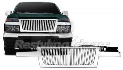 Grilles - Custom Fit Grilles - Restyling Ideas - GMC Canyon Restyling Ideas Grille - 72-GC-COL04VB