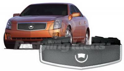 Grilles - Custom Fit Grilles - Restyling Ideas - Cadillac CTS Restyling Ideas Grille - 72-GC-CTS03