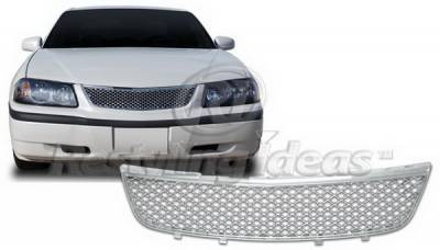 Grilles - Custom Fit Grilles - Restyling Ideas - Chevrolet Impala Restyling Ideas Performance Grille - 72-GC-IMP00ME