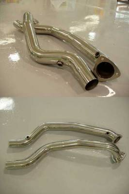 Exhaust - Custom Fit Exhaust - FabSpeed - Catbypass Pipes