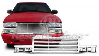 Grilles - Custom Fit Grilles - Restyling Ideas - Chevrolet S10 Restyling Ideas Performance Grille - 72-GC-S1098BL