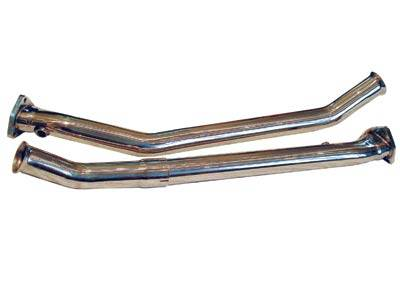 Exhaust - Custom Fit Exhaust - FabSpeed - Gillett Catalytic Converter Bypass Pipes