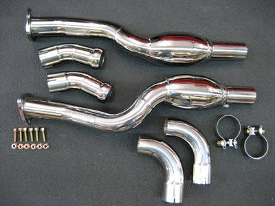 Exhaust - Custom Fit Exhaust - FabSpeed - Gillet Sport Catalytic Converter Pipes