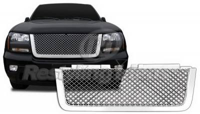 Grilles - Custom Fit Grilles - Restyling Ideas - Chevrolet Trail Blazer Restyling Ideas Grille - 72-GC-TRA07ME-T