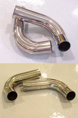 Exhaust - Custom Fit Exhaust - FabSpeed - Muffler Bypass Pipes