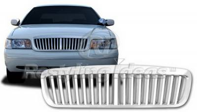 Grilles - Custom Fit Grilles - Restyling Ideas - Ford Crown Victoria Restyling Ideas Grille - 72-GF-CRO97VB