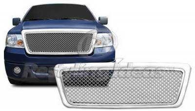 Grilles - Custom Fit Grilles - Restyling Ideas - Lincoln Mark Restyling Ideas Grille - 72-GF-F1504ME