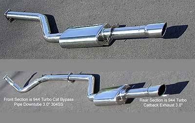 Exhaust - Custom Fit Exhaust - FabSpeed - 76.5mm MAXFLO Exhaust System