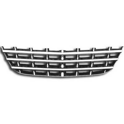 Grilles - Custom Fit Grilles - Restyling Ideas - Chrysler Sebring Restyling Ideas Overlay Grille - 72-GI-CRSEB07-49