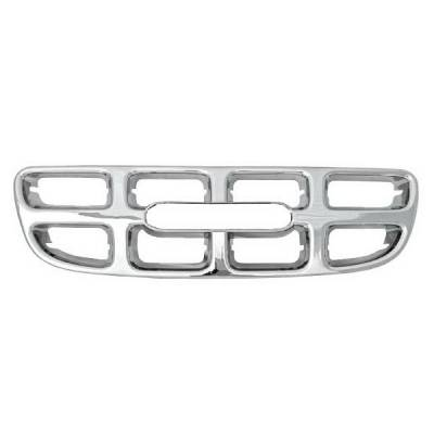 Grilles - Custom Fit Grilles - Restyling Ideas - Isuzu Rodeo Restyling Ideas Overlay Grille - 72-GI-ISROD00-07