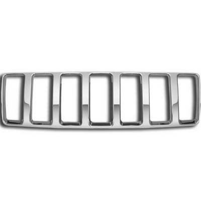 Grilles - Custom Fit Grilles - Restyling Ideas - Jeep Grand Cherokee Restyling Ideas Overlay Grille - 72-GI-JEGRA04-04