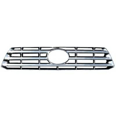 Grilles - Custom Fit Grilles - Restyling Ideas - Toyota Highlander Restyling Ideas Overlay Grille - 72-GI-TOHIG08-57