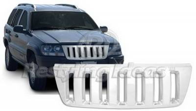 Grilles - Custom Fit Grilles - Restyling Ideas - Jeep Grand Cherokee Restyling Ideas Performance Grille - 72-GJ-GRA99