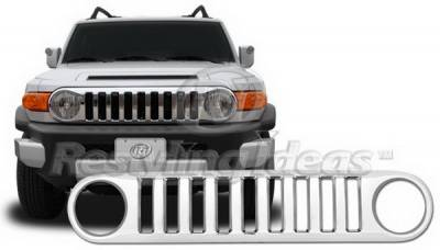 Grilles - Custom Fit Grilles - Restyling Ideas - Toyota FJ Cruiser Restyling Ideas Performance Grille - 72-GT-FJC07